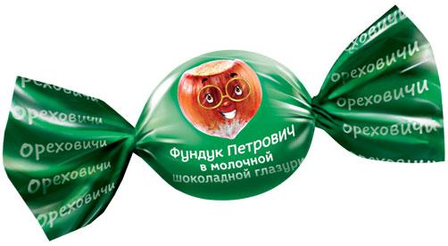 «Фундук Петрович» в молочно-шоколадной глазури